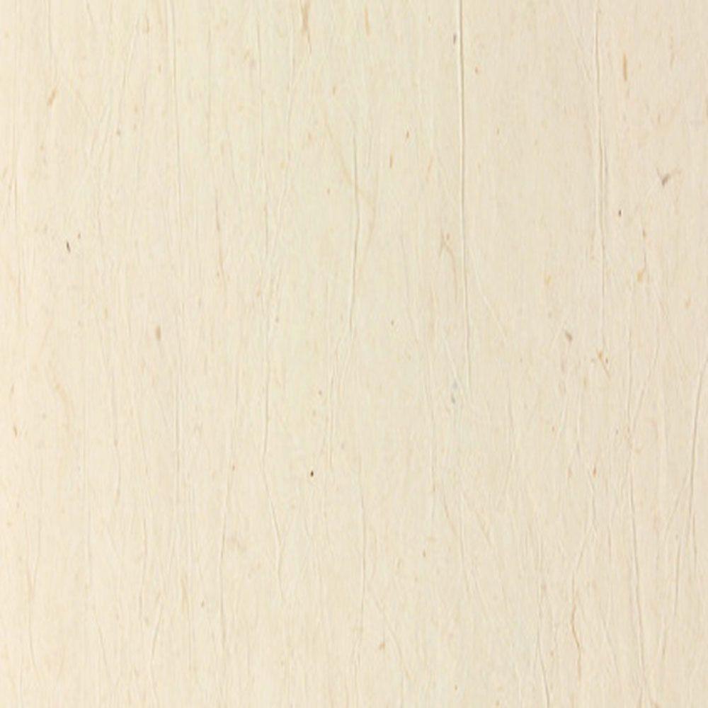Antique White Papyrus Textured Rice Paper Wallpaper