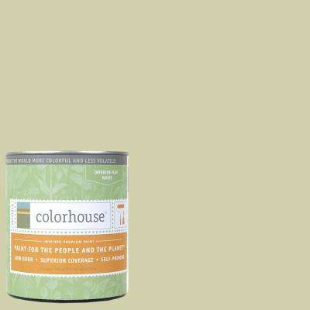 1 qt. Leaf .01 Flat Interior Paint