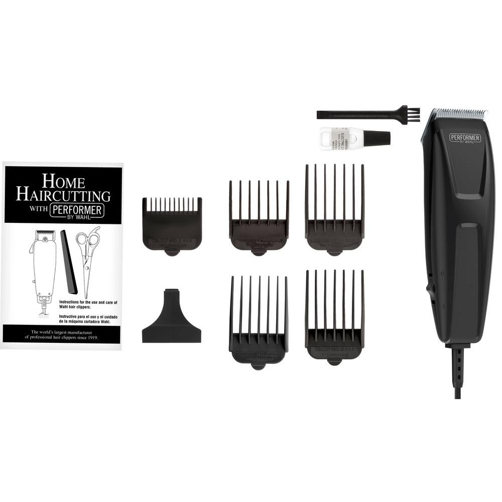 Wahl Quick Cut Performer 10 Piece Haircutting Kit In Black 9314300