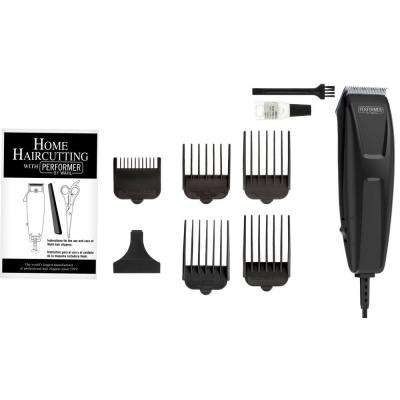 Quick Cut Performer 10-Piece Haircutting Kit in Black