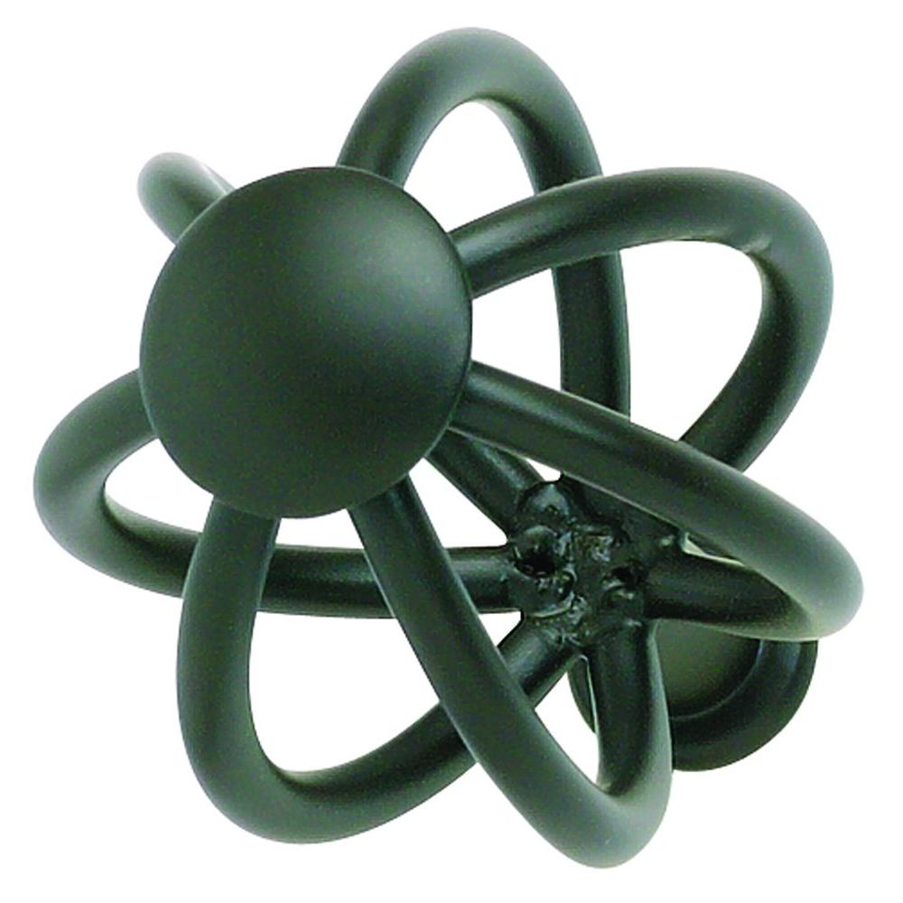 Atlas Homewares Twisted Wire Collection 1-1/2 in. Aged Bronze Cabinet Knob