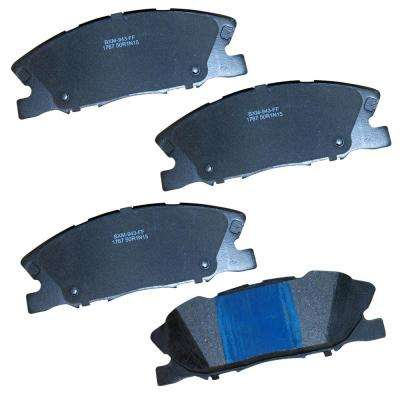 Front Stop Semi-Metallic Disc Brake Pad fits 2014-2015 Dodge Charger
