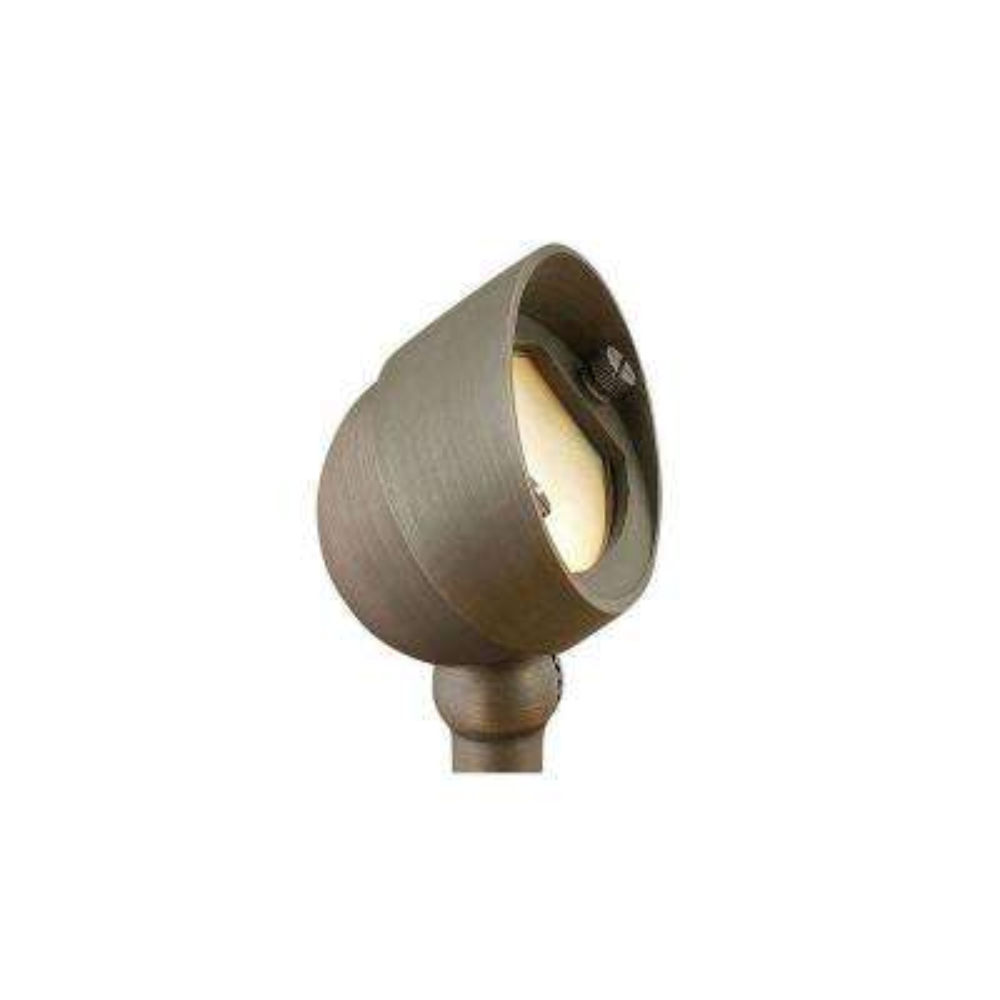 3.8-Watt Matte Bronze Integrated LED Hardy Island 2700K Ultra Warm Flood Light