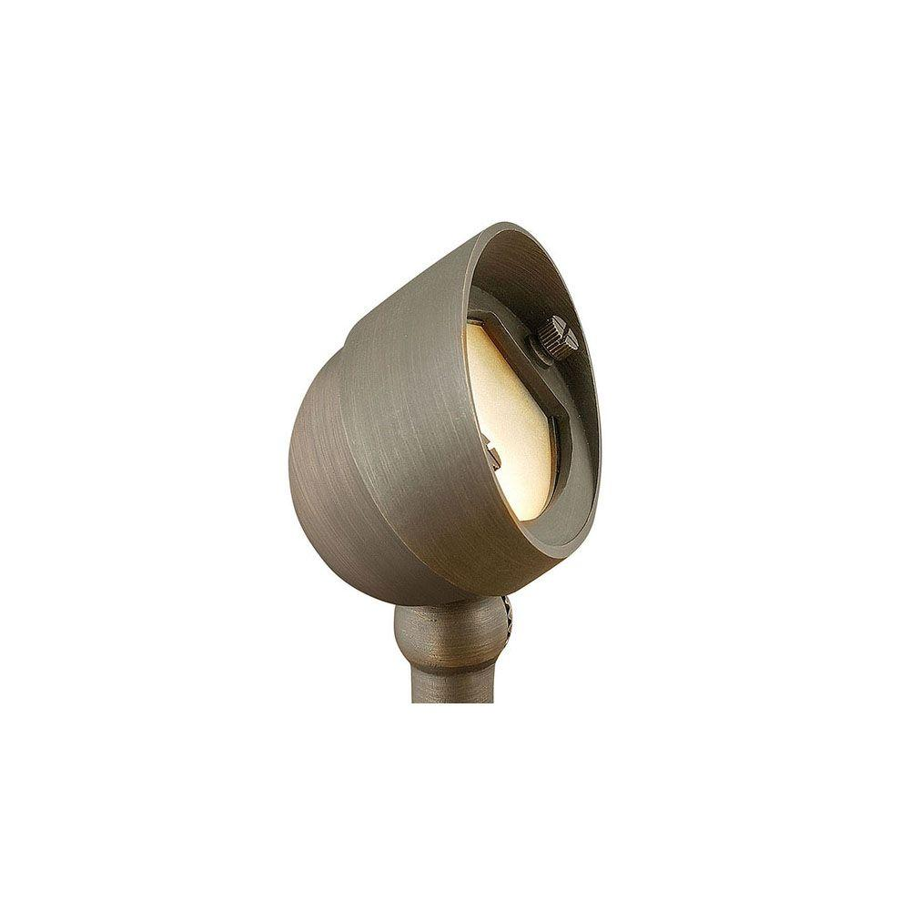 3.8-Watt Matte Bronze Integrated LED Hardy Island 2700K Ultra Warm Flood