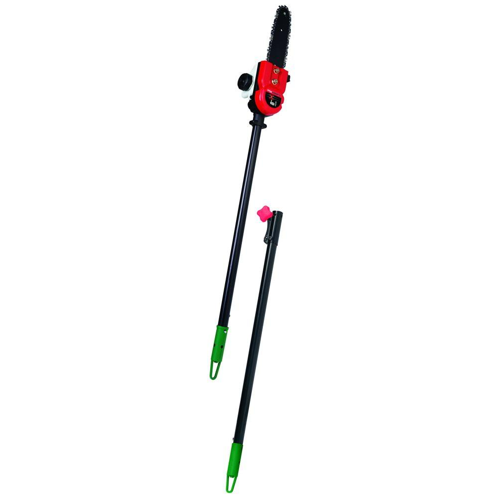 Trimmerplus add on 8 in pole saw attachment with extension pole pole saw attachment with extension pole ps720 the home depot greentooth Choice Image
