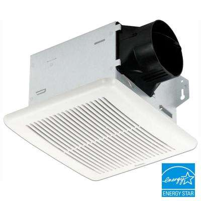 Integrity Series 50 CFM Wall or Ceiling Bathroom Exhaust Fan, ENERGY STAR