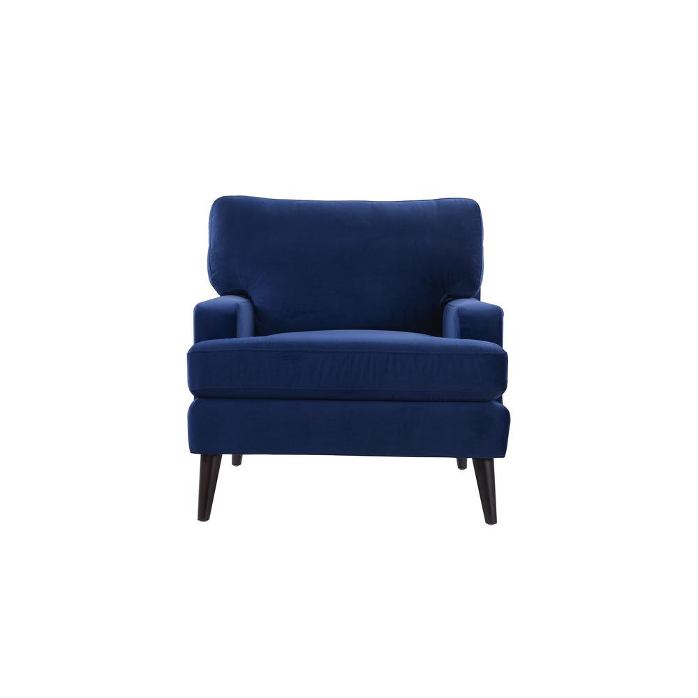 Jennifer Taylor Enzo Navy Blue Lawson Accent Chair 63330 1 859 The