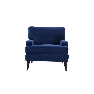 Enzo Navy Blue Lawson Accent Chair