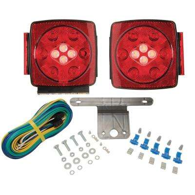 LED TRLR Lamp Kit with Back Up