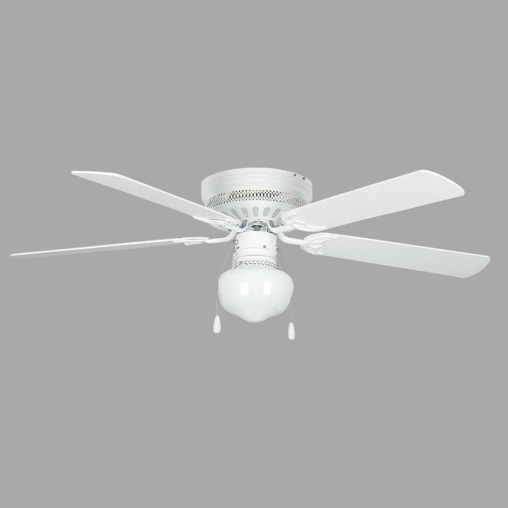 white ceiling fans concord fans hugger schoolhouse 52 in indoor white 11554