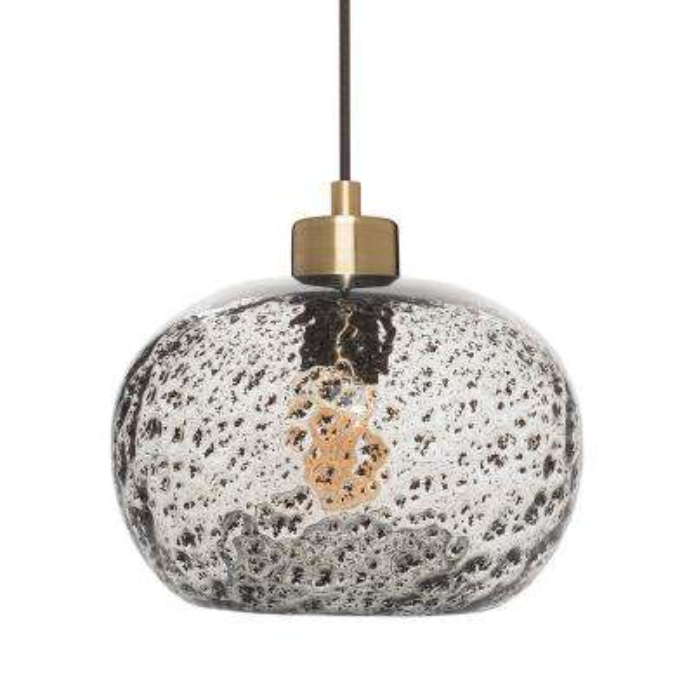 Blown glass pendant lights lighting the home depot h 1 light brass rustic seeded hand aloadofball Images