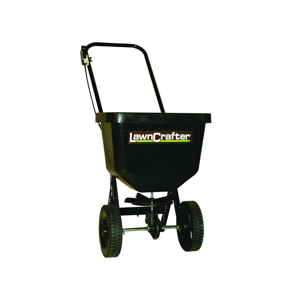 walk behind push broadcast fertilizer salt spreader grass. Black Bedroom Furniture Sets. Home Design Ideas