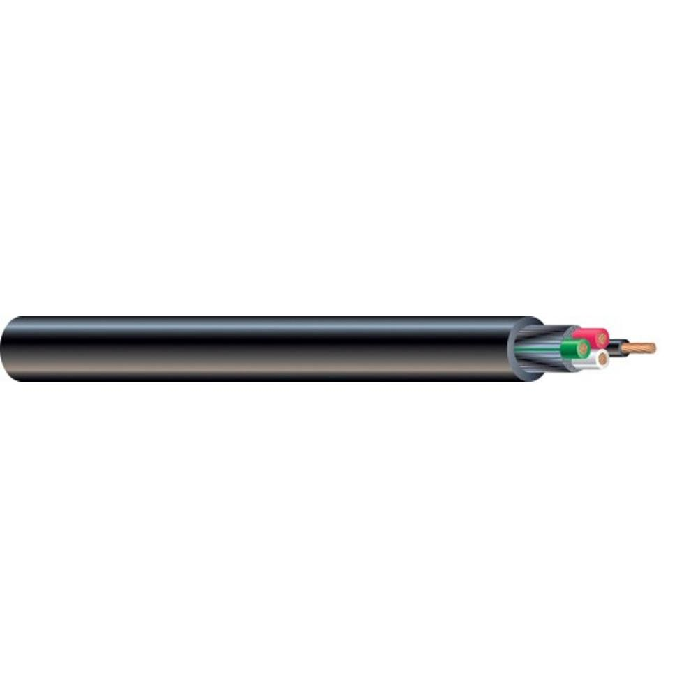 Soow Cable Specifications : Southwire by the foot  volt cu black flexible