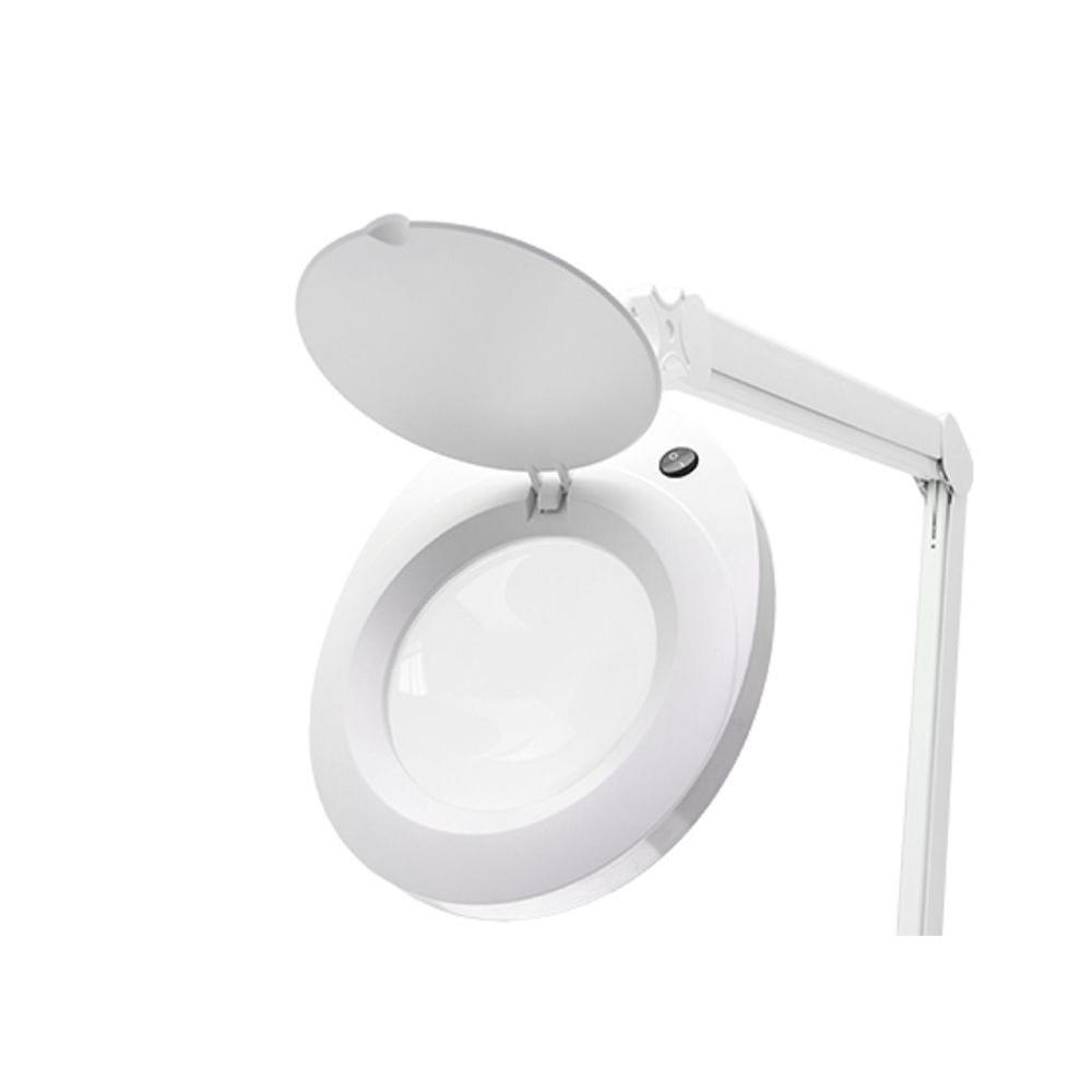 ProVue LED Ivory Magnifying Lamp with 8 Diopter Lens