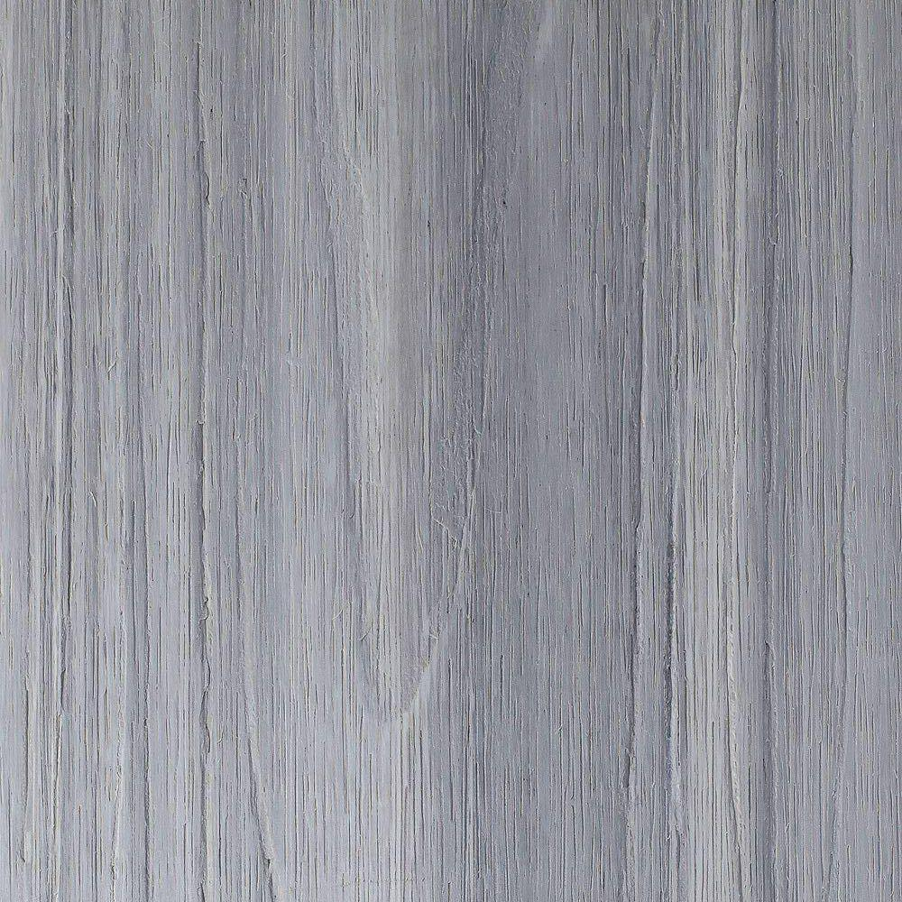 NewTechWood UltraShield Naturale Voyager 1 in. x 6 in. x 1 ft. Icelandic Smoke White Hollow Composite Decking Board Sample