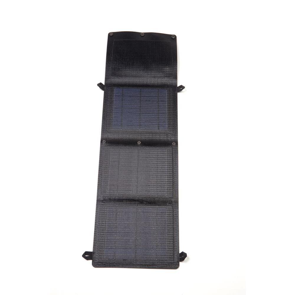 Grape Solar GoCharger 10-Watt Portable Folding Monocrystalline Solar Panel with 2-Amp USB Output