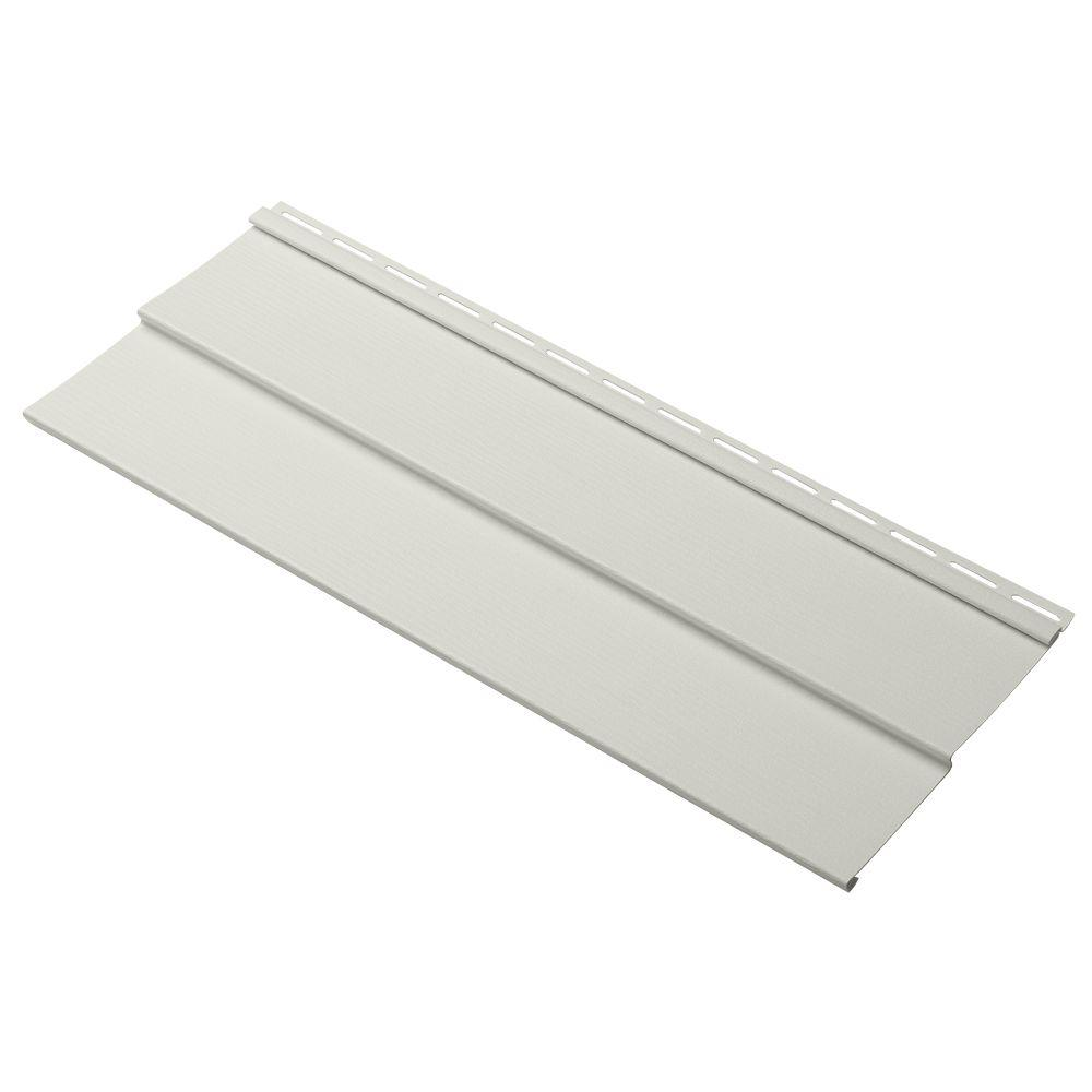 Evolutions Double 4 in. x 24 in. Vinyl Siding Sample in