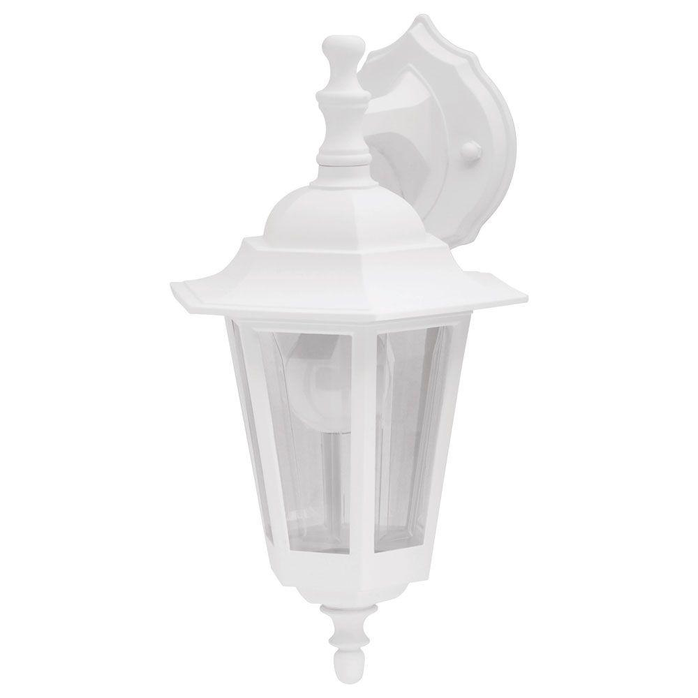 Newport Coastal Bonita White Outdoor Wall-Mount Lantern