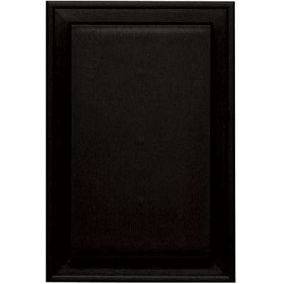 8.25 in. x 12.0625 in. #002 Black Jumbo Universal Mounting Block