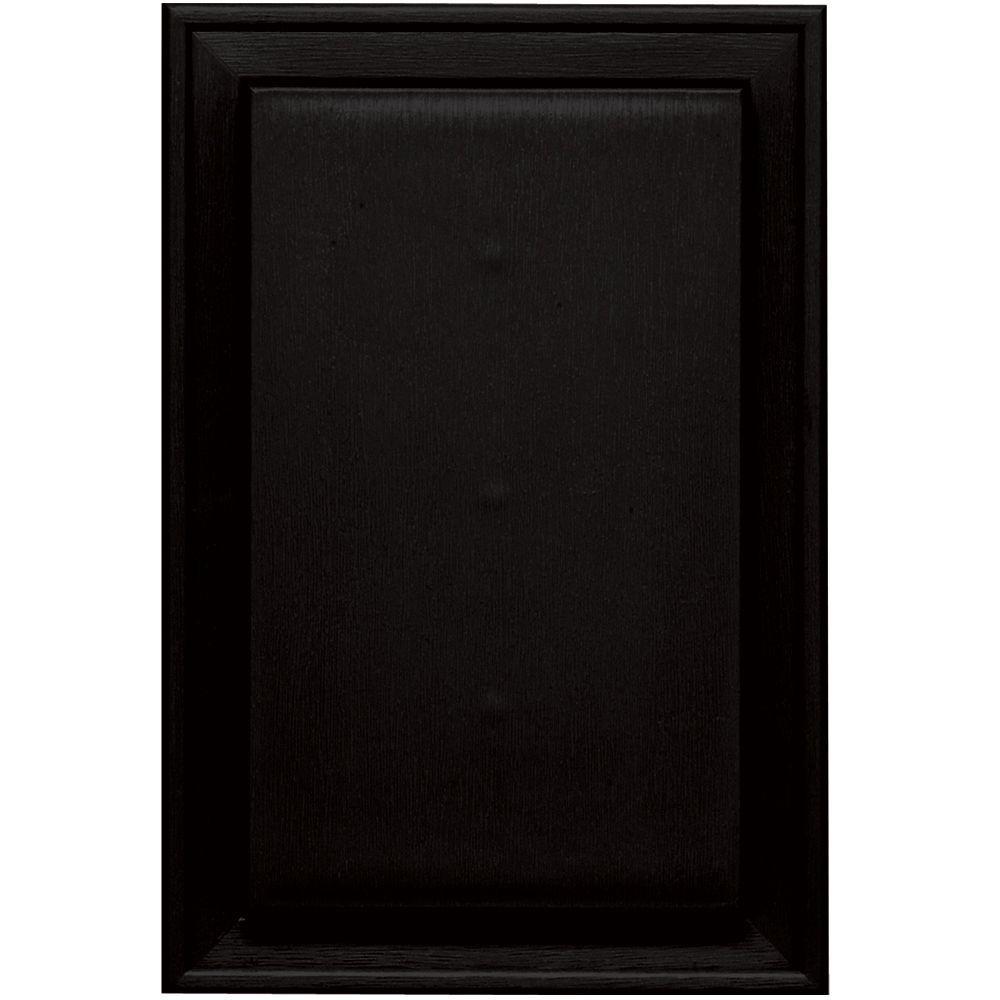8.125 in. x 12 in. #002 Black Jumbo Mounting Block