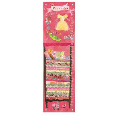 """42 in. x 12 in. """"Happily Ever After - Princess & The Pea"""" by Winborg Sisters Growth Charts Wall Art"""