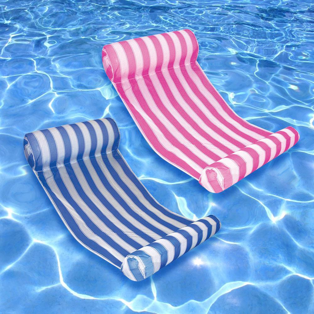poolmaster com games hammock lounge lounger water dp blue amazon toys