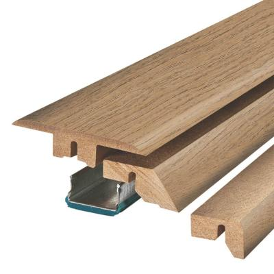Rutherford Autumn Oak 3/4 in. Thick x 2-1/8 in. Wide x 78-3/4 in. Length Laminate 4-in-1 Molding