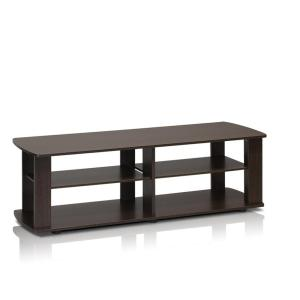 THE Dark Brown Entertainment Center with Shelf