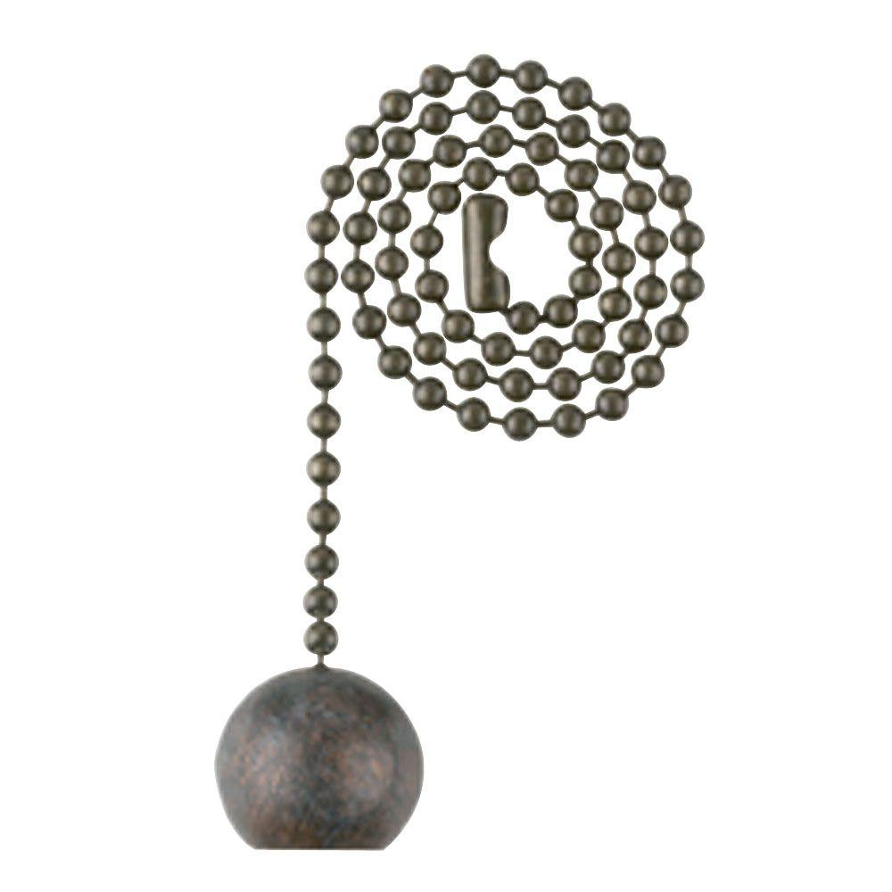 Westinghouse Old Chicago Ball Pull Chain 7721800 The