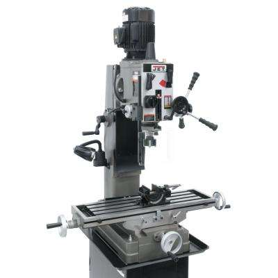 JMD-45GH 115-Volt/230-Volt Geared Head Square Column Mill/Drill Press