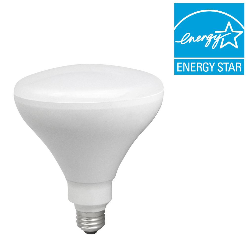 TCP 85W Equivalent Soft White (2700K) BR40 Dimmable LED Flood Light Bulb