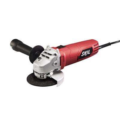 6 Amp Corded Electric 4-1/2 in. Angle Grinder