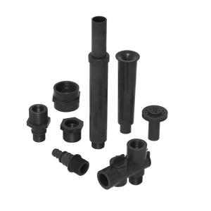 Algreen Component Kit for 200, 320, 500, 850 GPH Fountain and Pond Pumps 3/4 inch and 1/2 inch Fountain Nozzle by Algreen