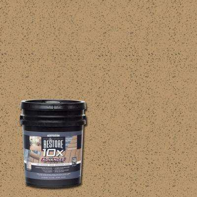 4 gal. 10X Advanced Sandstone Deck and Concrete Resurfacer