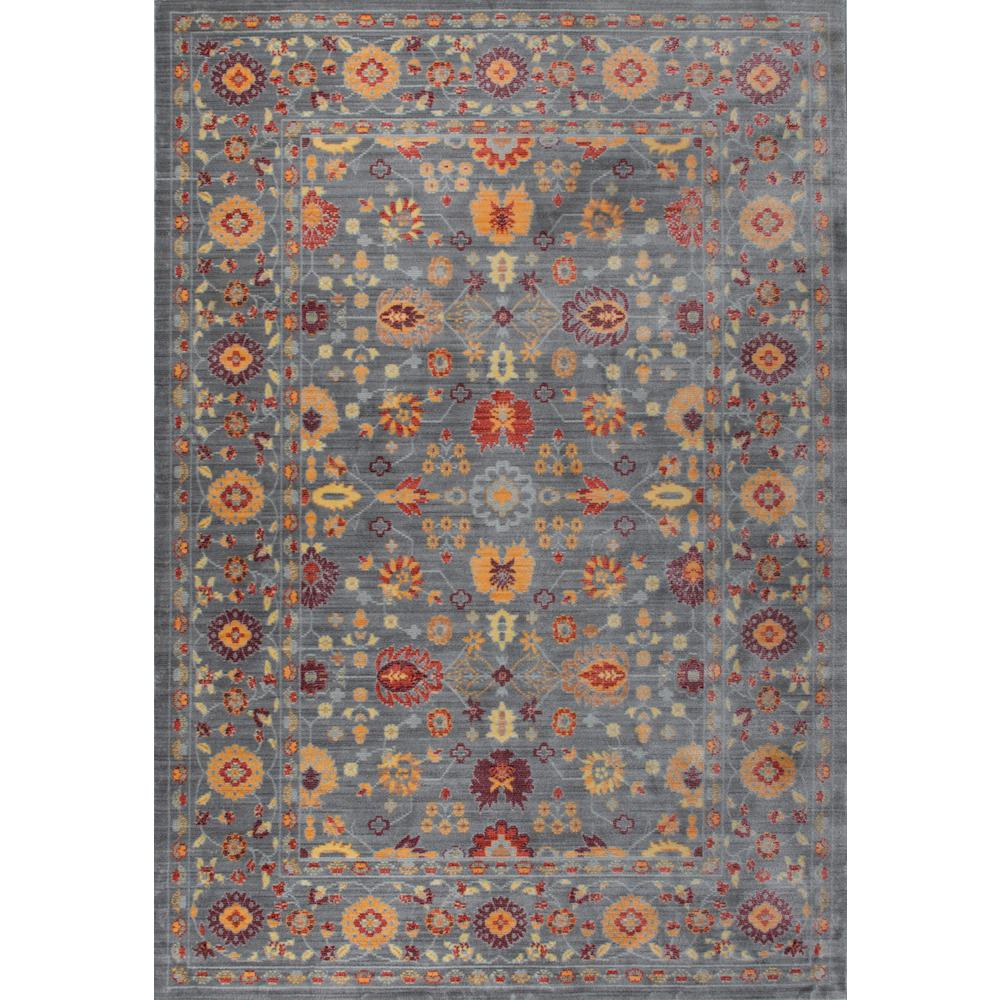 Tayse Rugs Heritage Spice 3 Ft. 11 In. X 6 Ft. Area Rug