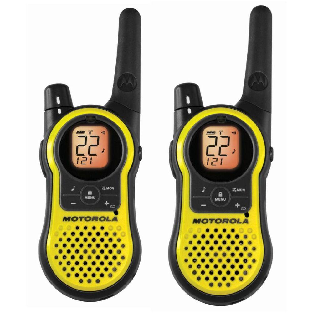 Motorola Talkabout 23-Mile Range 22 Channel Rechargeable 2-Way Radio - Yellow-DISCONTINUED