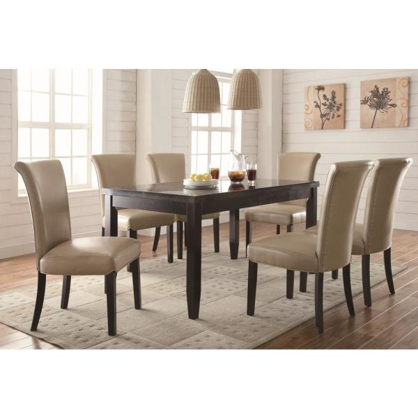 Coaster Newbridge Collection Taupe Dining Chair Set Of 2