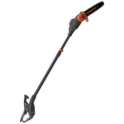Ranger II 10 in. 8 Amp Telescoping 2-in-1 Electric Pole Saw/Chainsaw Combo with Automatic Chain Oiler