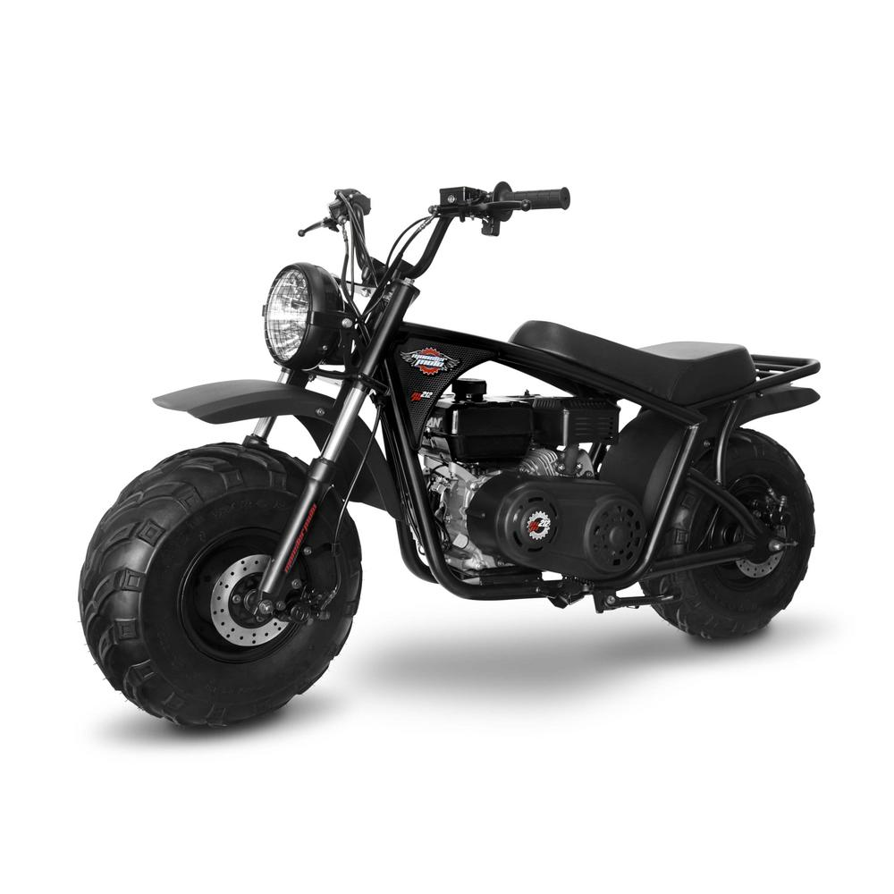 Monster Moto Classic Black And Red 212cc Gas Mini Bike Mm B212 Br
