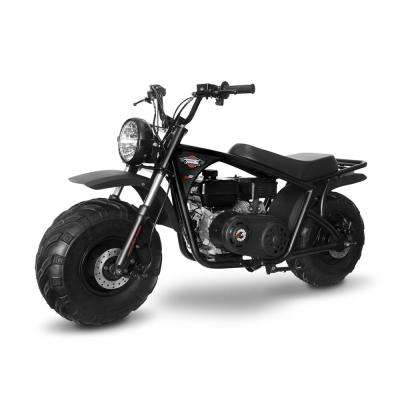 Classic Black and Red 212cc Gas Mini Bike