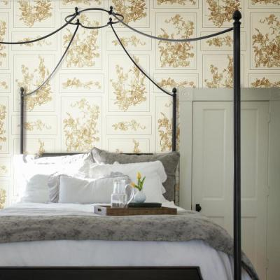 60.75 sq. ft. The Magnolia Removable Wallpaper