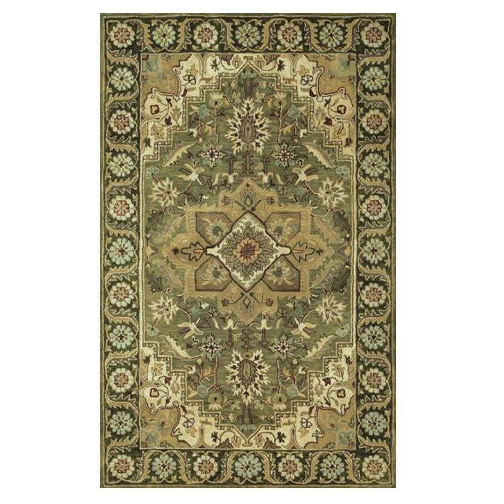 Home Decorators Collection Normandie Sage 9 ft. 9 in. x 13 ft. 9 in. Area Rug