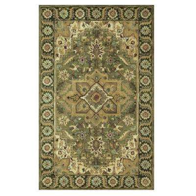 Normandie Sage 9 ft. 9 in. x 13 ft. 9 in. Area Rug