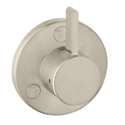 Metris S 1-Handle Trio/Quattro Valve Trim Kit in Brushed Nickel (Valve Not Included)