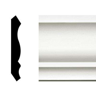 LWM 49 - 9/16 in. x 3-5/8 in. x 144 in. Pine Primed Finger-Jointed Crown Moulding Pro Pack 60 LF M (5-Pieces)
