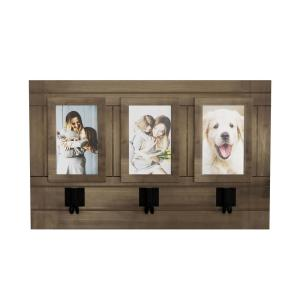 Lavish Home Wall Picture Collage With 3 Hanging Hooks Hw0200031 The Home Depot