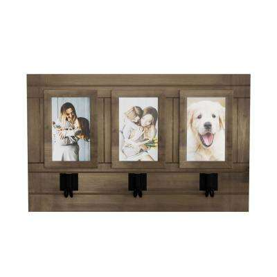 Wall Picture Collage with 3 Hanging Hooks