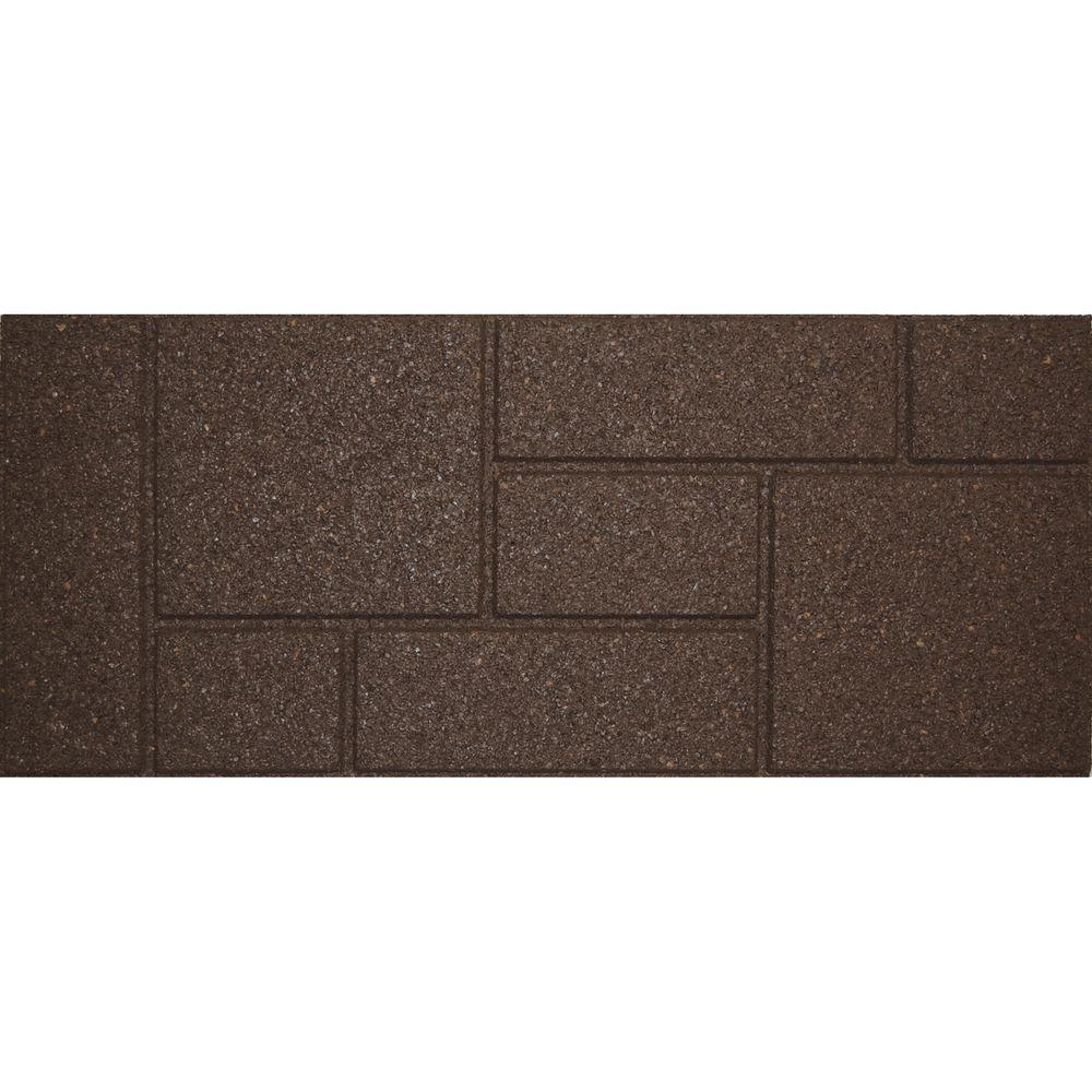 Envirotile Cobblestone 10 in. x 36 in. Earth Stair Tread ...