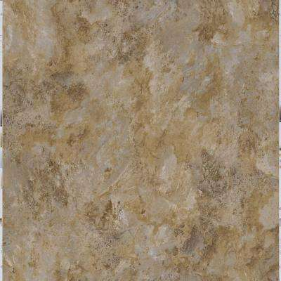 Grey Slate 18 in. x 18 in. Peel and Stick Vinyl Tile (27 sq. ft. / case)