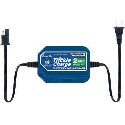 2-Amp Trickle Charge Battery Maintainer for Watercraft